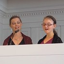 Catherine and Carolin Sing (and play oboe)